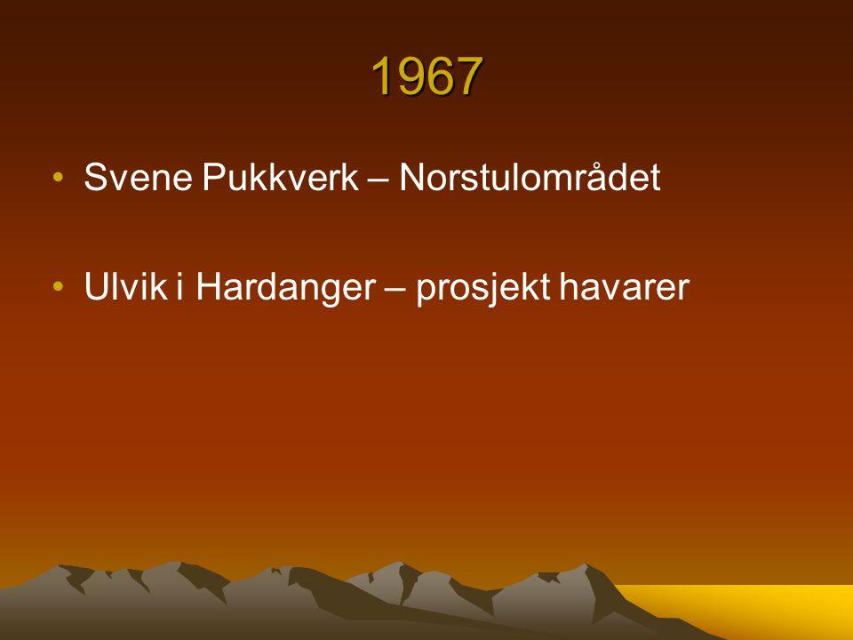 1967 Svene Pukkverk – Norstulområdet