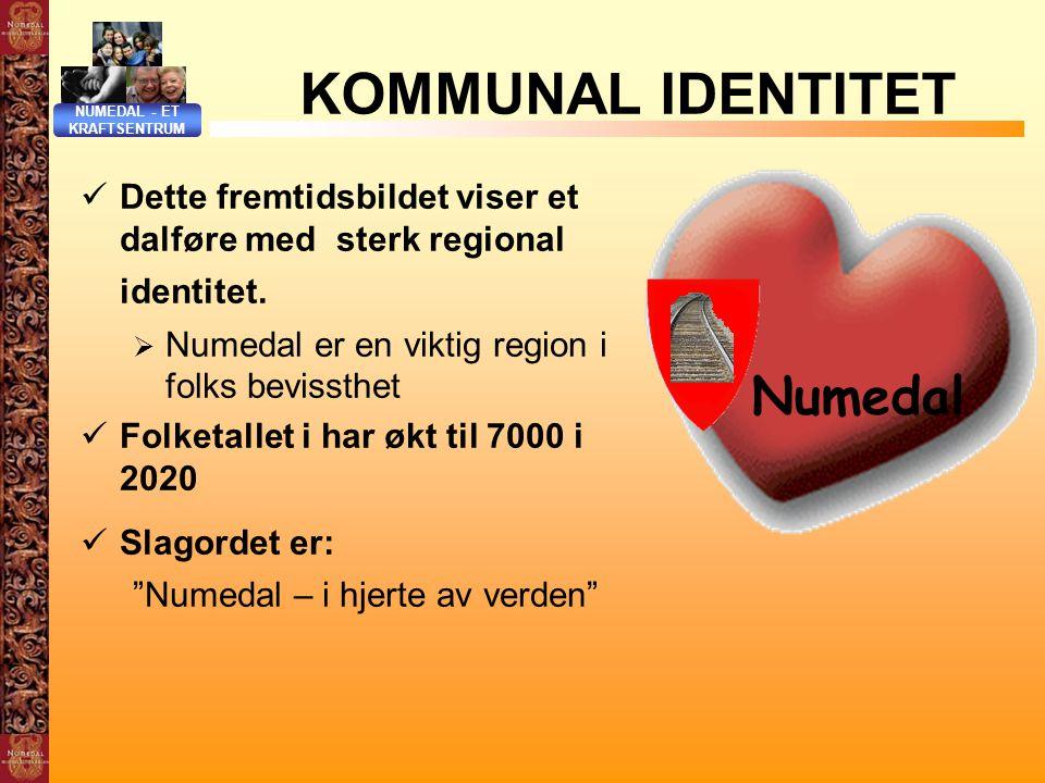 KOMMUNAL IDENTITET Numedal