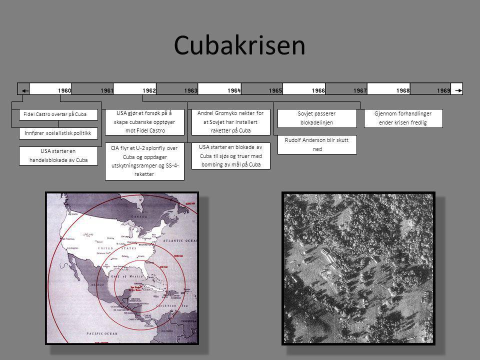 Cubakrisen USA gjør et forsøk på å skape cubanske opptøyer