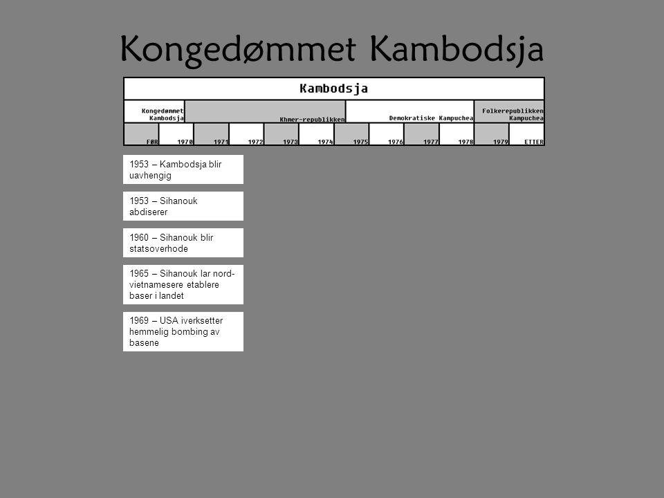 Kongedømmet Kambodsja