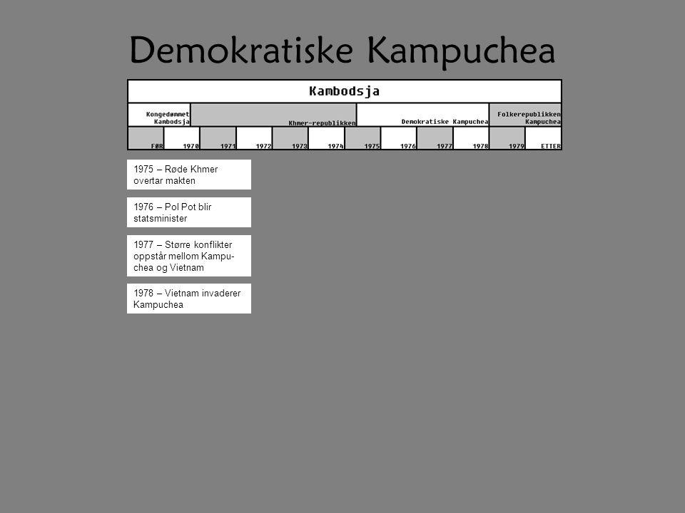 Demokratiske Kampuchea