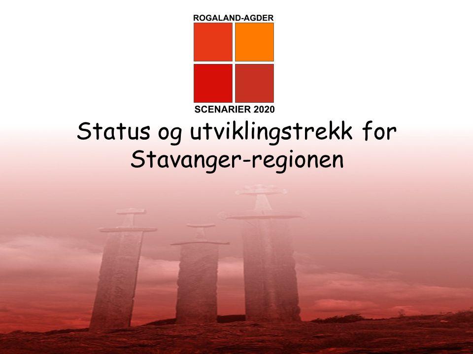 Status og utviklingstrekk for Stavanger-regionen