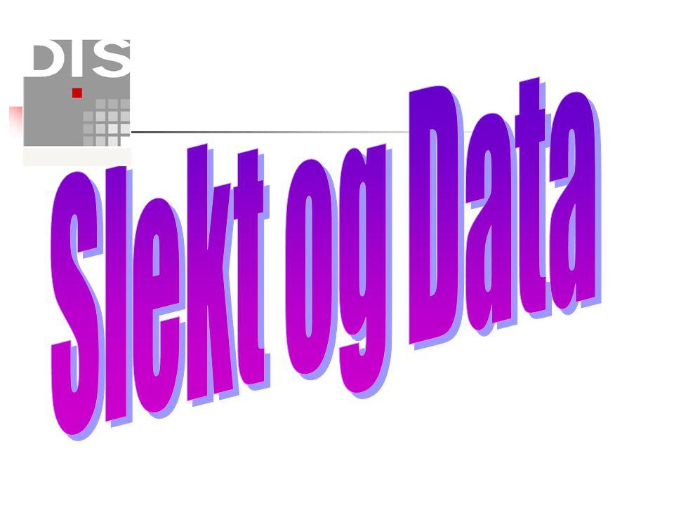 Slekt og Data