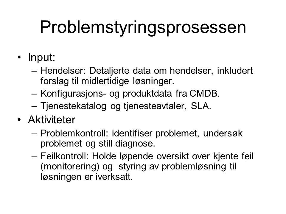 Problemstyringsprosessen