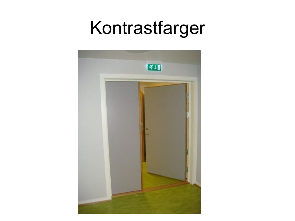 Kontrastfarger