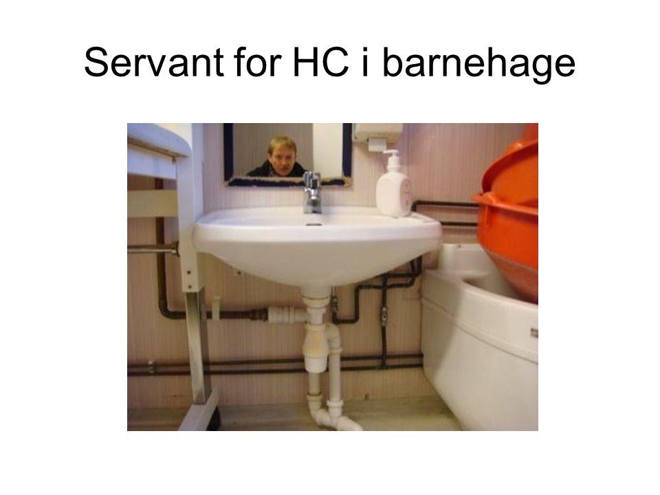 Servant for HC i barnehage