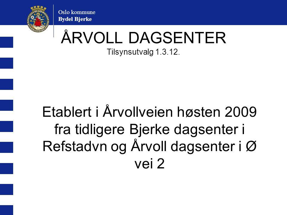ÅRVOLL DAGSENTER Tilsynsutvalg 1.3.12.