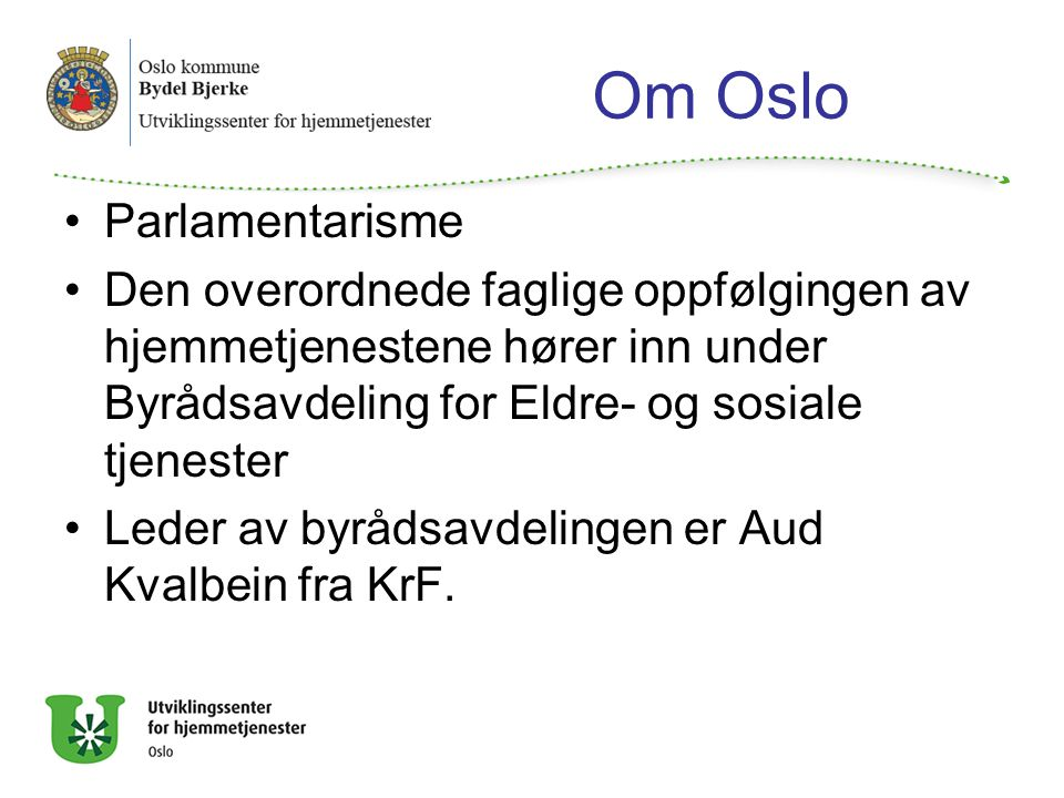 Om Oslo Parlamentarisme