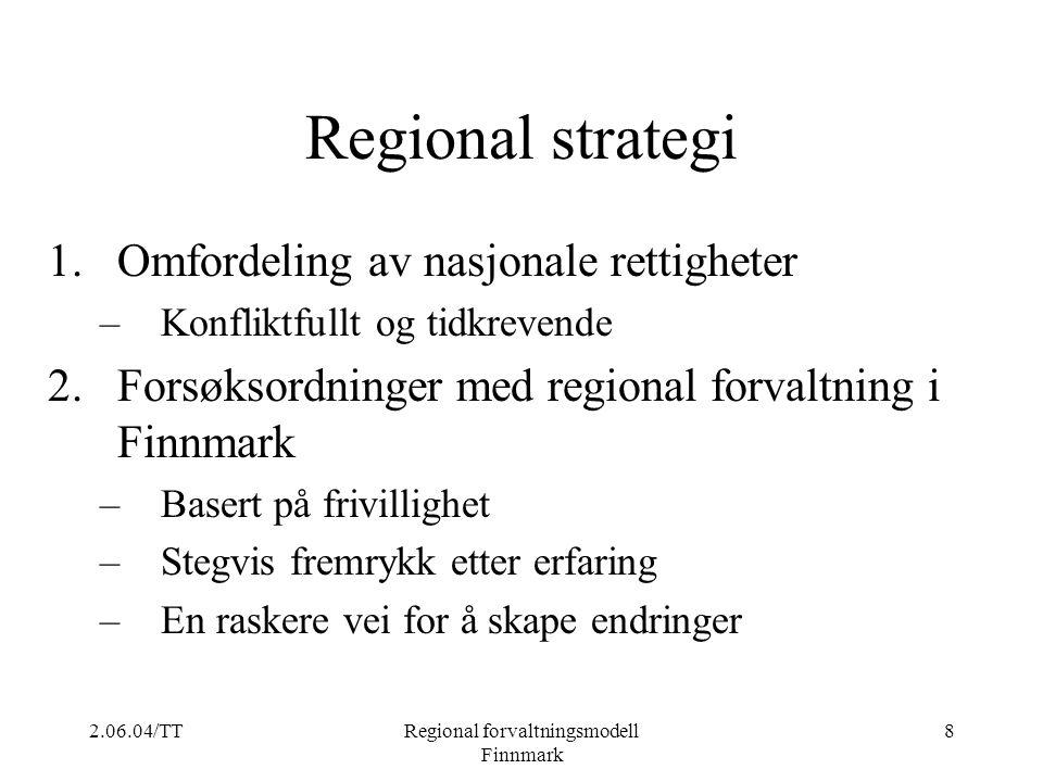 Regional forvaltningsmodell Finnmark