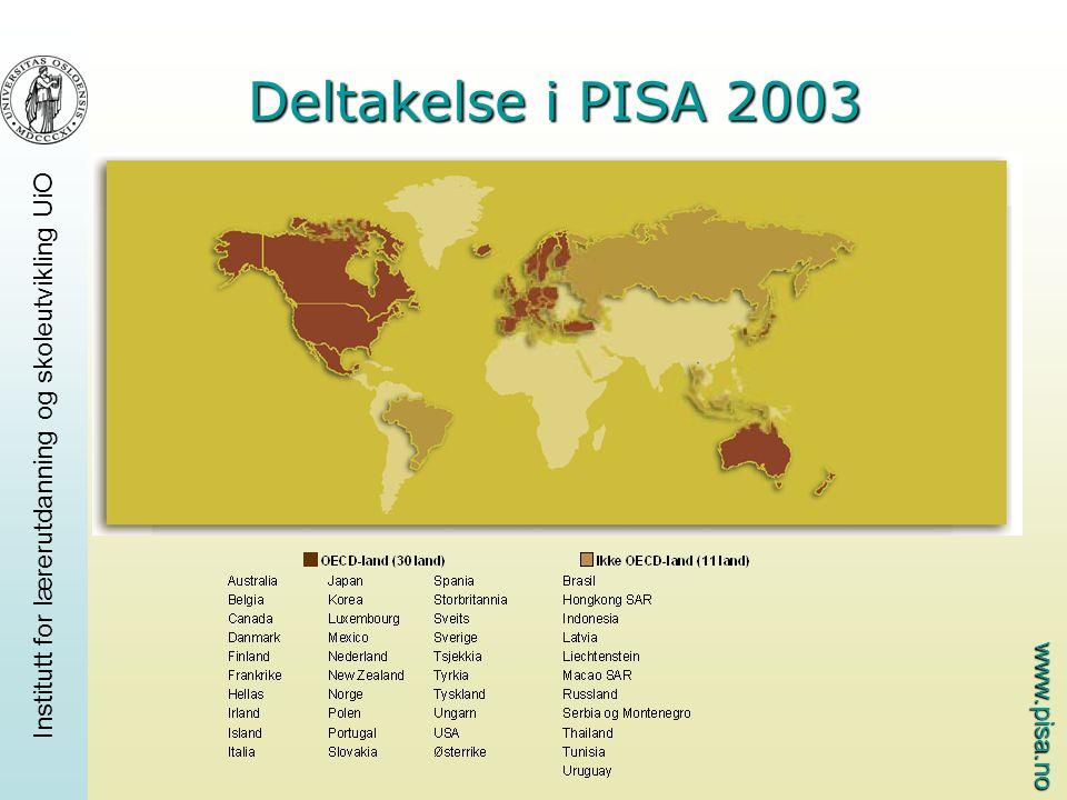 Deltakelse i PISA 2003
