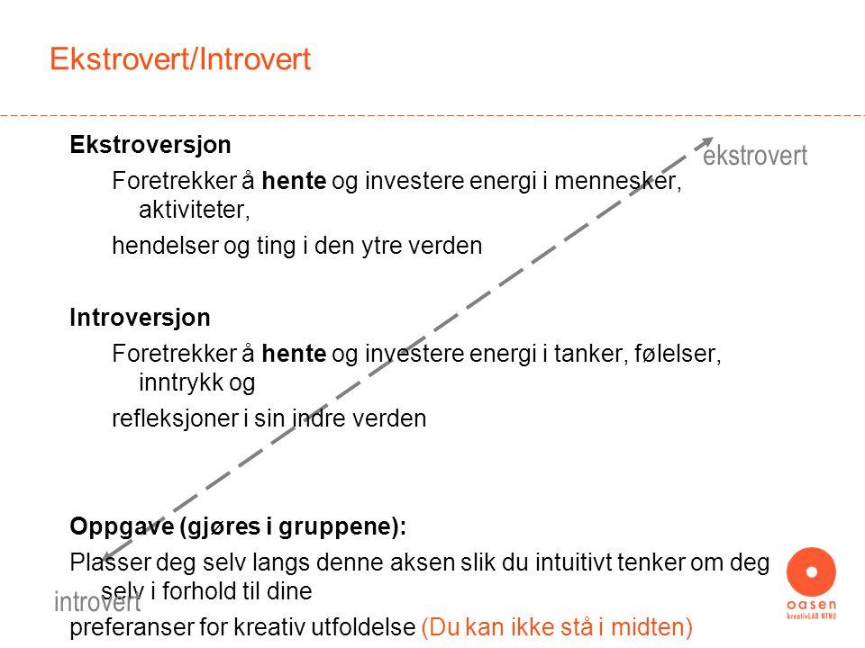 Ekstrovert/Introvert