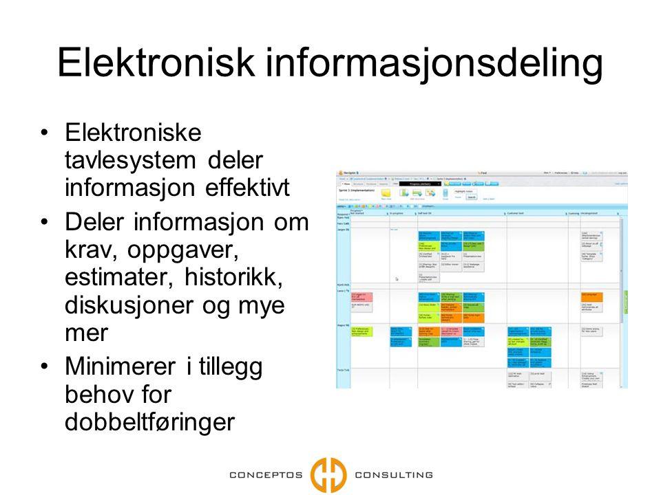 Elektronisk informasjonsdeling