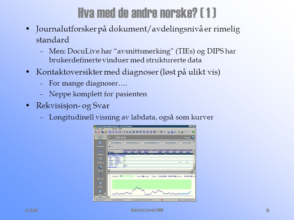 Hva med de andre norske ( 1 )