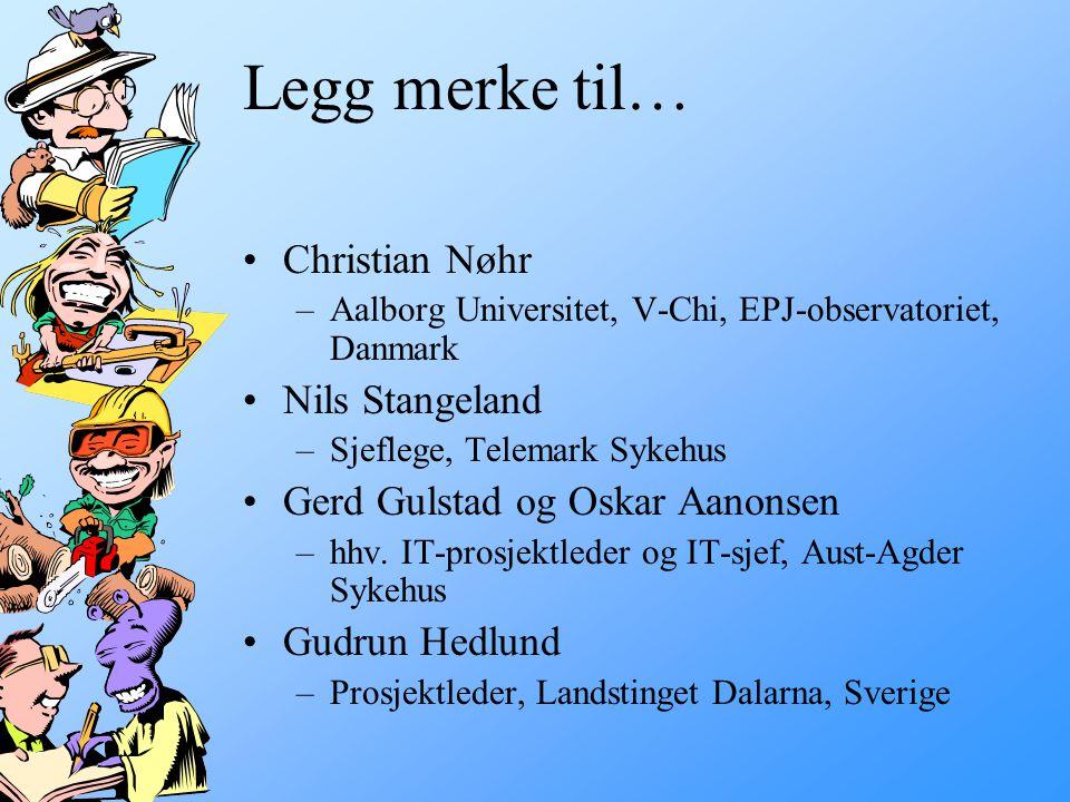 Legg merke til… Christian Nøhr Nils Stangeland
