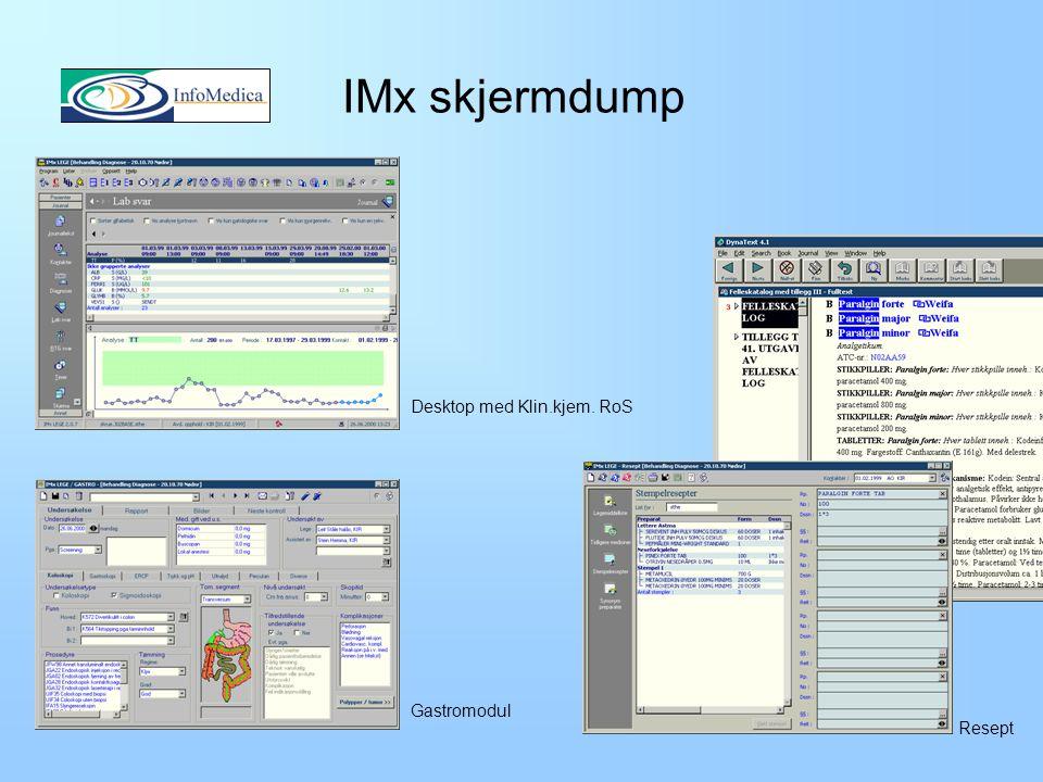 IMx skjermdump Desktop med Klin.kjem. RoS Gastromodul Resept