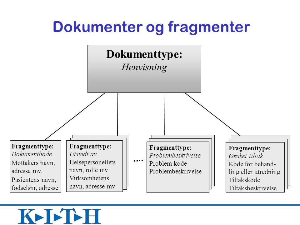 Dokumenter og fragmenter
