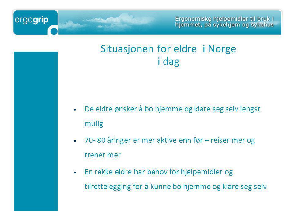 Situasjonen for eldre i Norge i dag