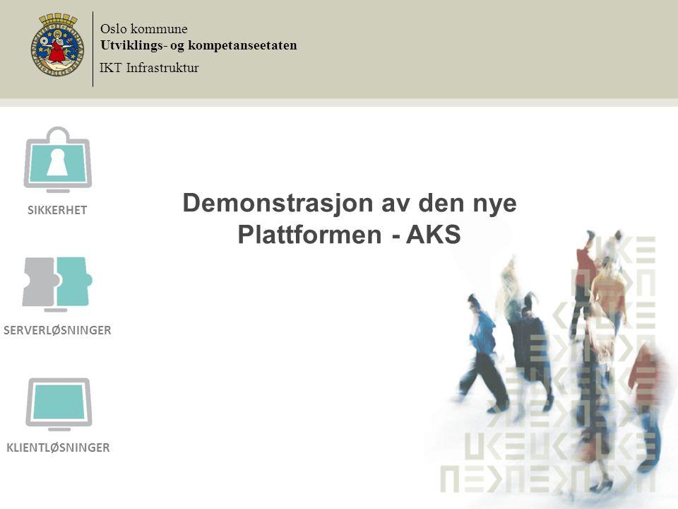 Demonstrasjon av den nye