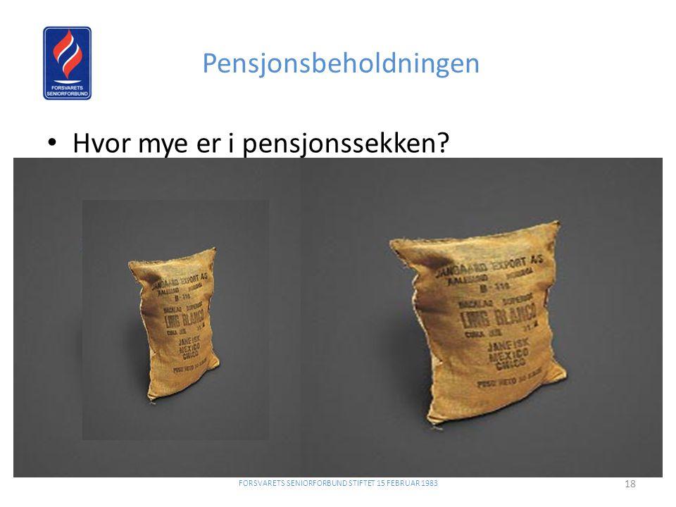 Pensjonsbeholdningen