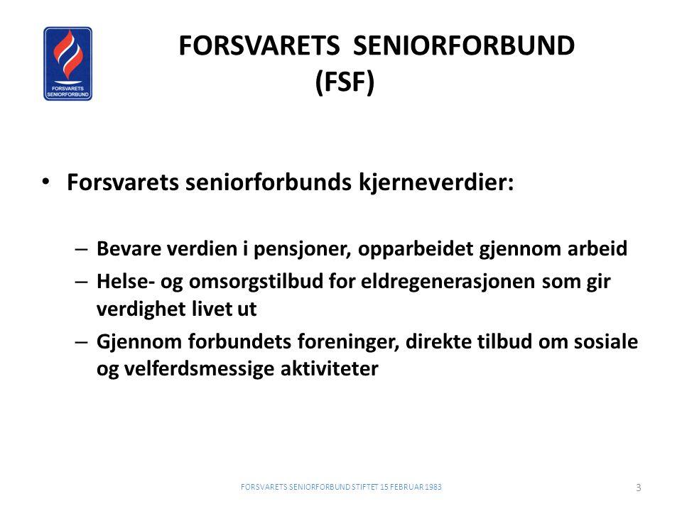 FORSVARETS SENIORFORBUND (FSF)