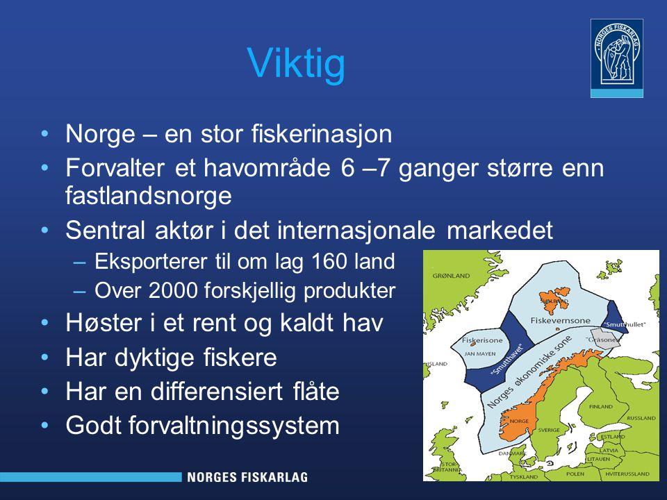 Viktig Norge – en stor fiskerinasjon