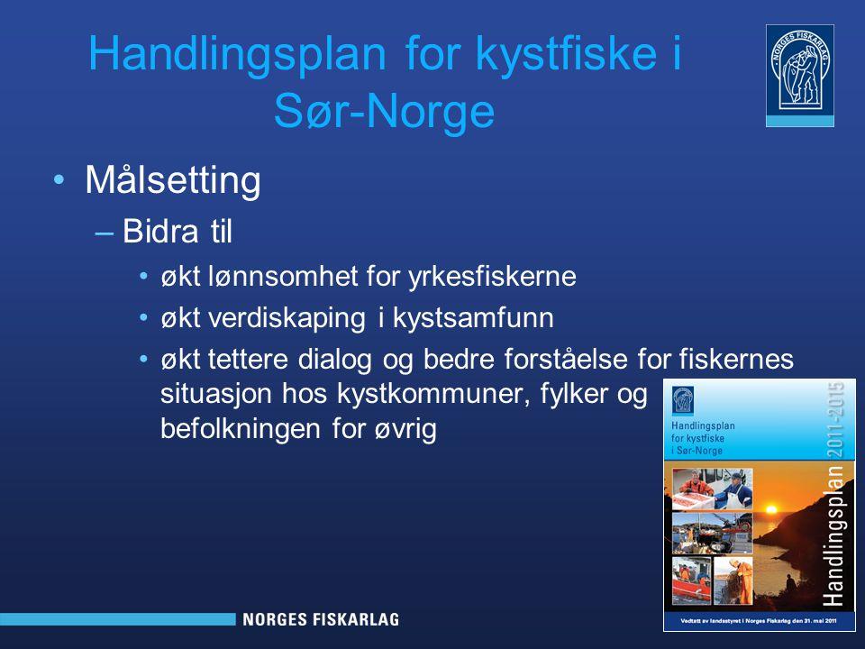 Handlingsplan for kystfiske i Sør-Norge