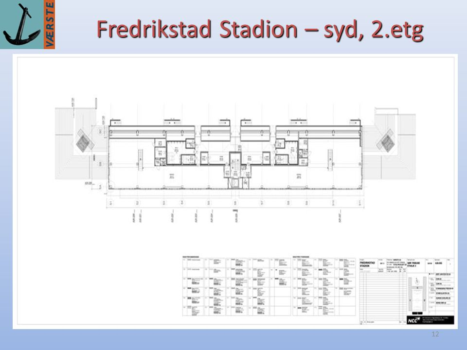 Fredrikstad Stadion – syd, 2.etg