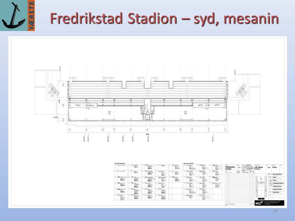 Fredrikstad Stadion – syd, mesanin