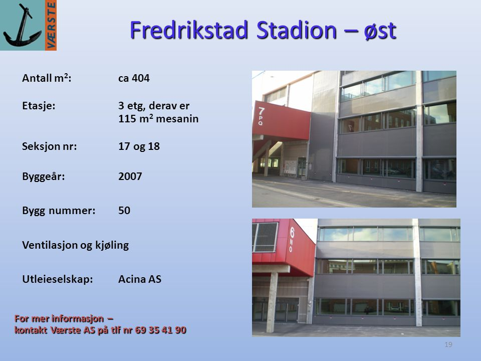 Fredrikstad Stadion – øst
