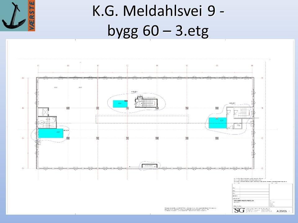 K.G. Meldahlsvei 9 - bygg 60 – 3.etg