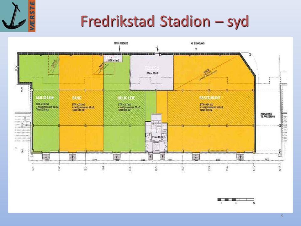 Fredrikstad Stadion – syd