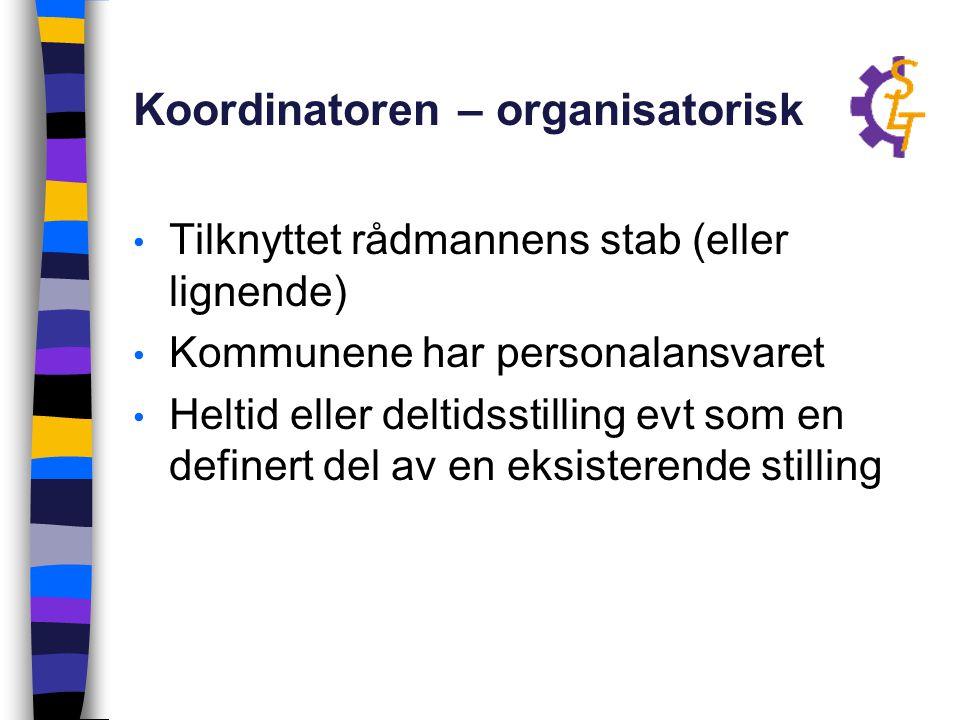 Koordinatoren – organisatorisk