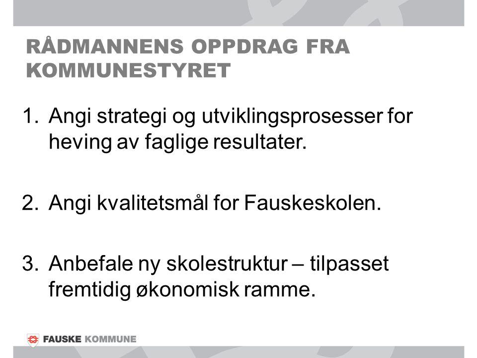RÅDMANNENS OPPDRAG FRA KOMMUNESTYRET