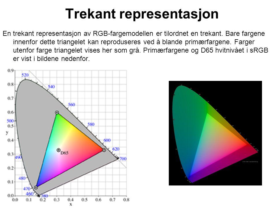 Trekant representasjon
