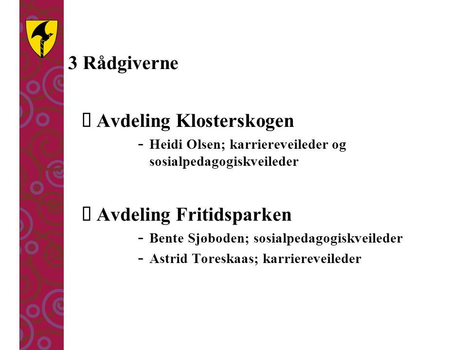 Avdeling Klosterskogen