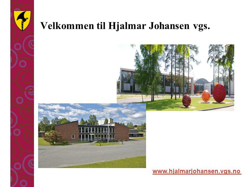 Velkommen til Hjalmar Johansen vgs.