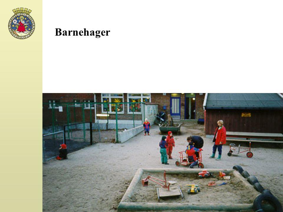 Barnehager Tendens: