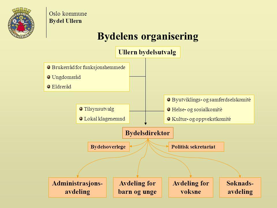 Bydelens organisering
