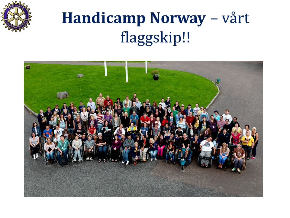 Handicamp Norway – vårt flaggskip!!