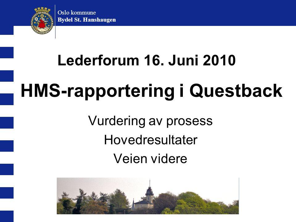 HMS-rapportering i Questback