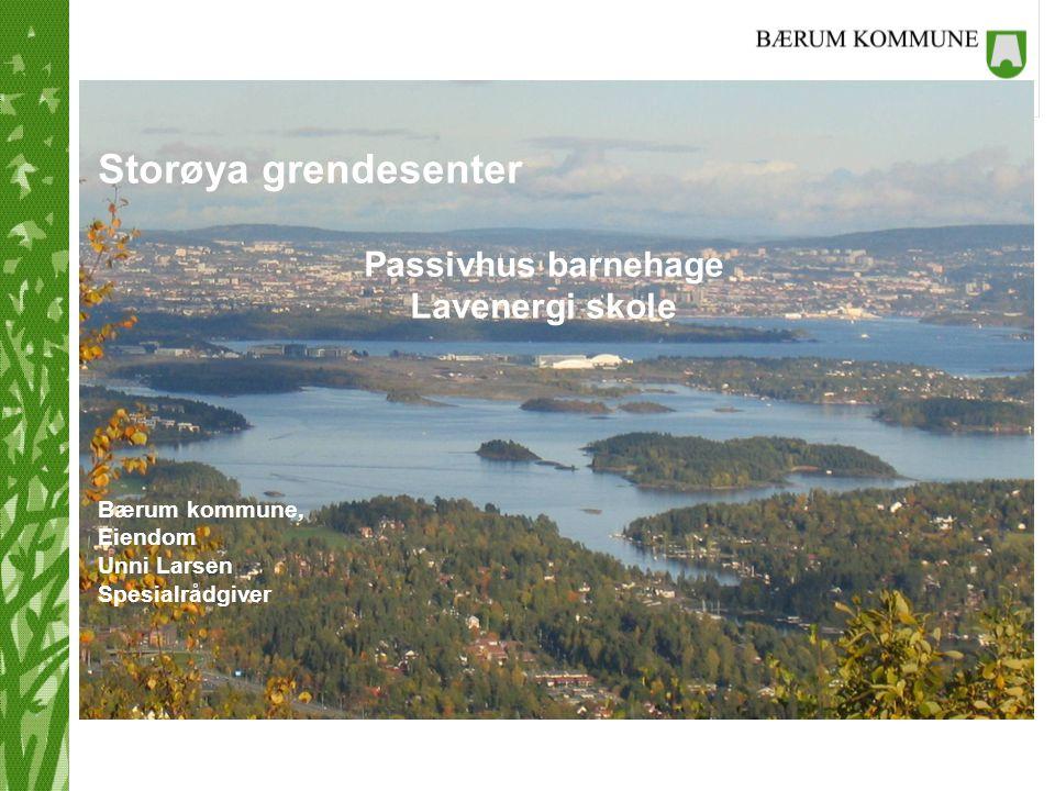 Storøya grendesenter Passivhus barnehage Lavenergi skole