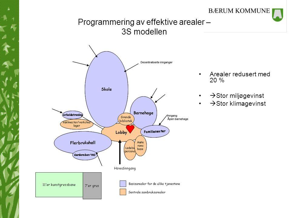 Programmering av effektive arealer – 3S modellen