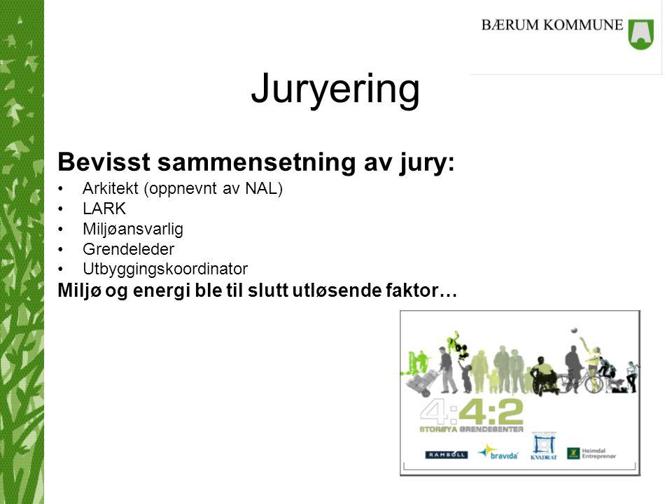 Juryering Bevisst sammensetning av jury: