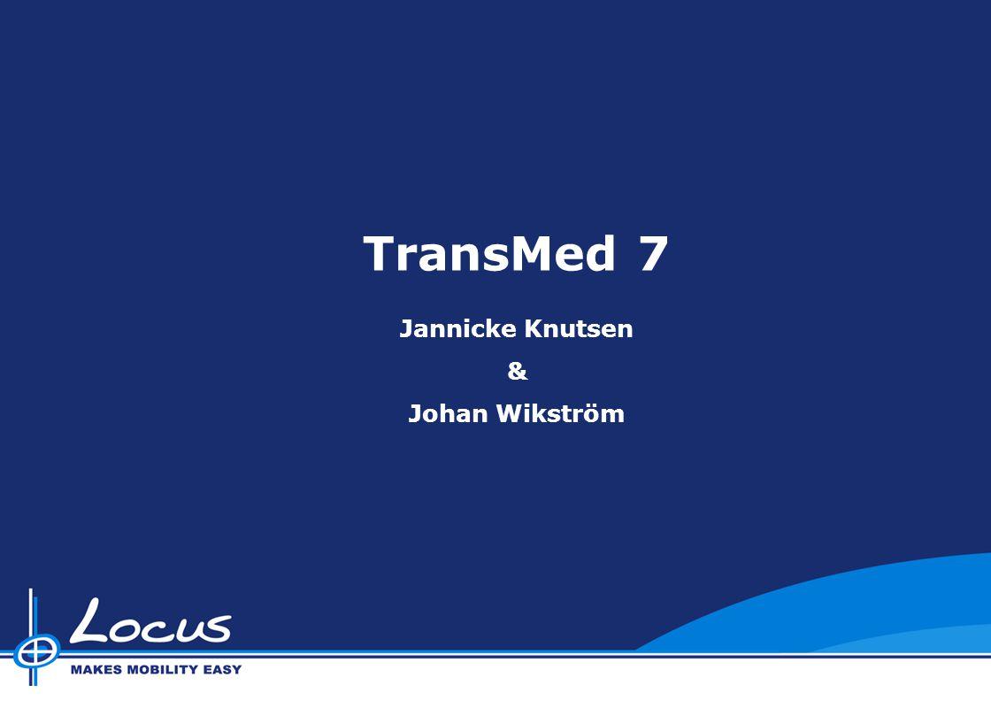 TransMed 7 Jannicke Knutsen & Johan Wikström
