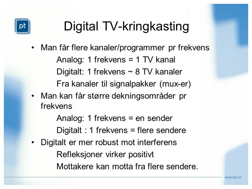 Digital TV-kringkasting