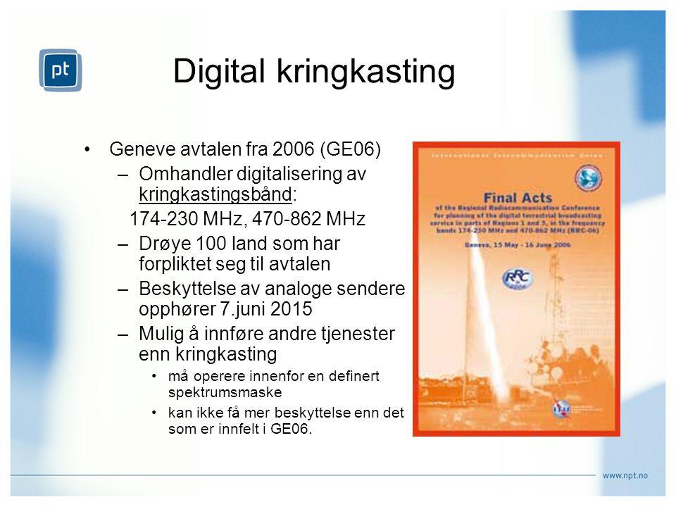 Digital kringkasting Geneve avtalen fra 2006 (GE06)