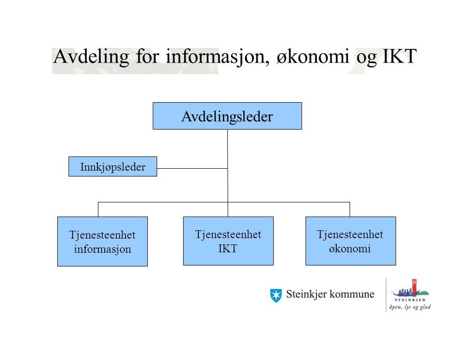 Avdeling for informasjon, økonomi og IKT
