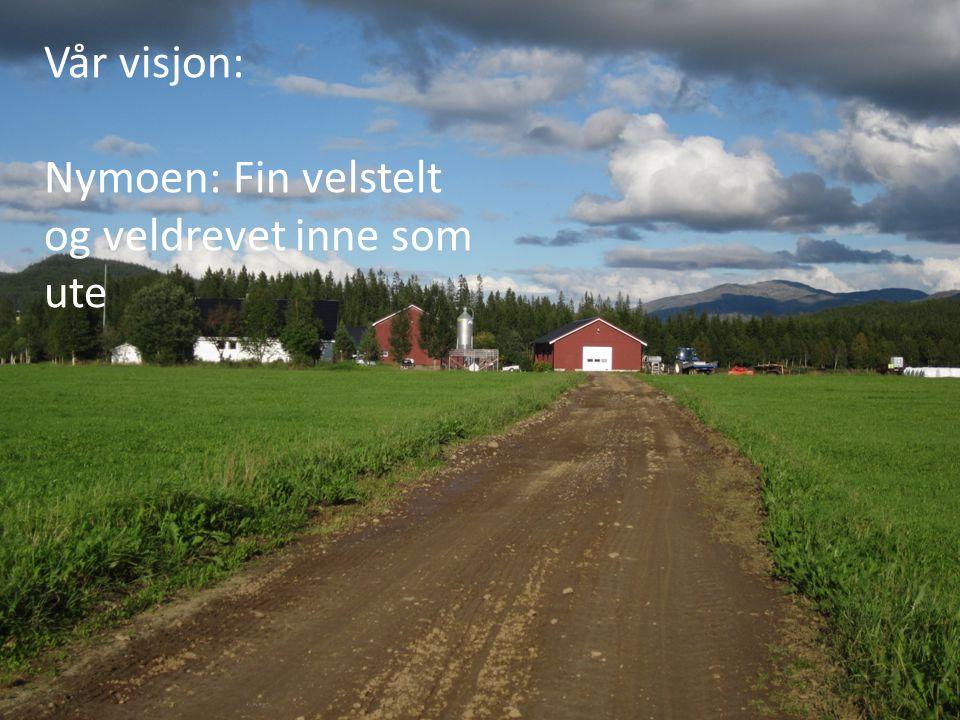 Vår visjon: Nymoen: Fin velstelt og veldrevet inne som ute