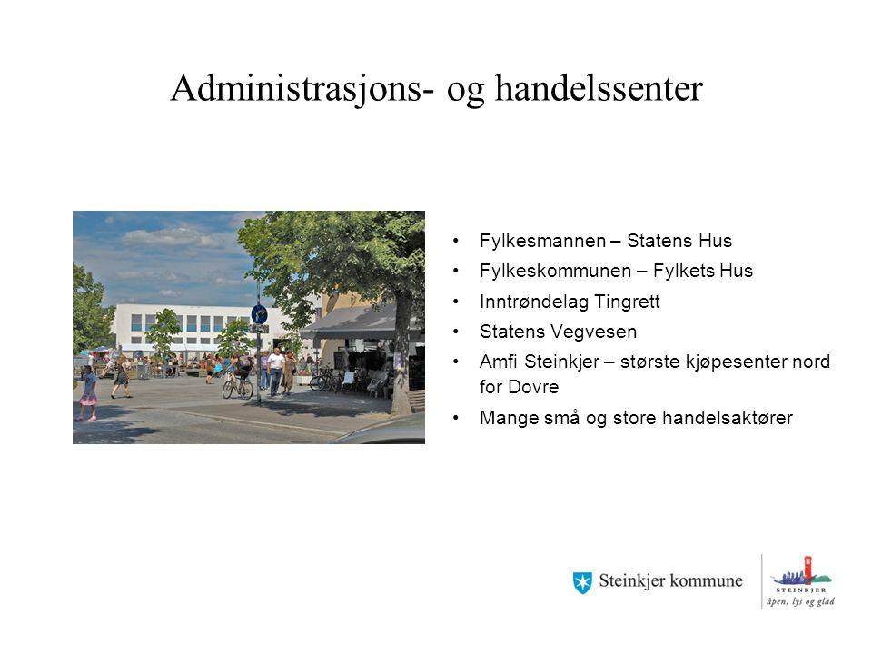 Administrasjons- og handelssenter