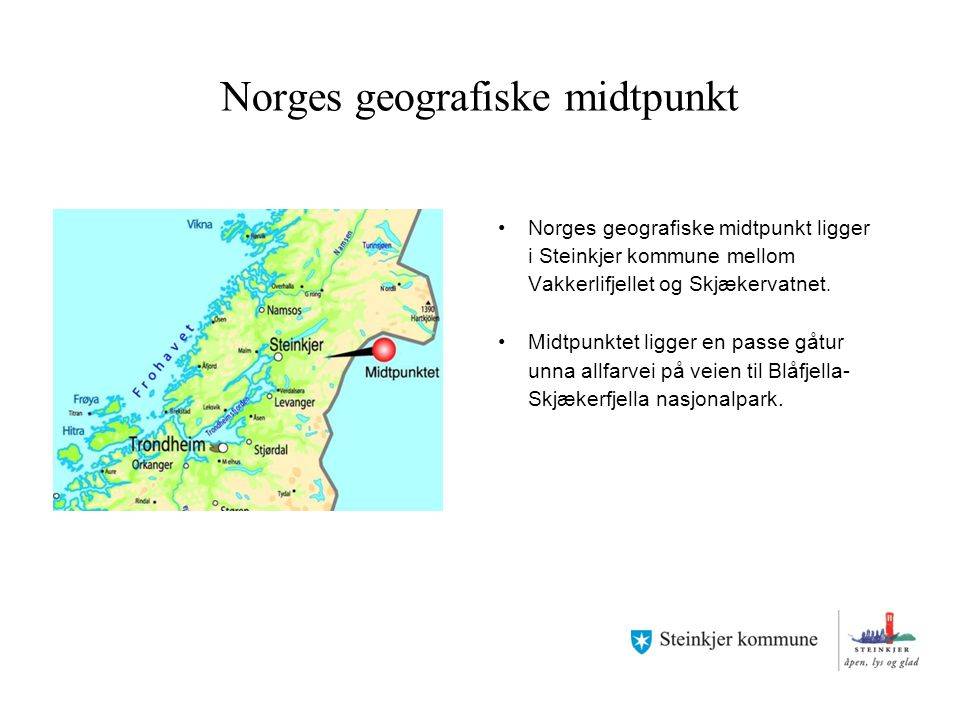 Norges geografiske midtpunkt